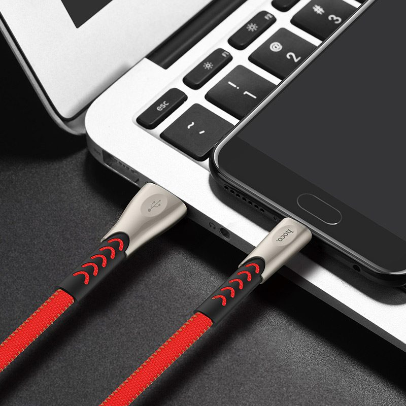 hoco u48 superior speed charging data cable for micro usb phone