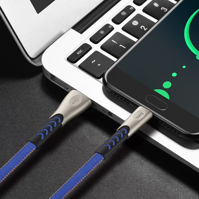 hoco u48 superior speed charging data cable for type c overview