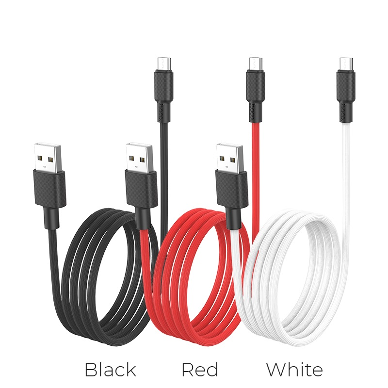 hoco x29 superior style charging data cable for micro usb colors