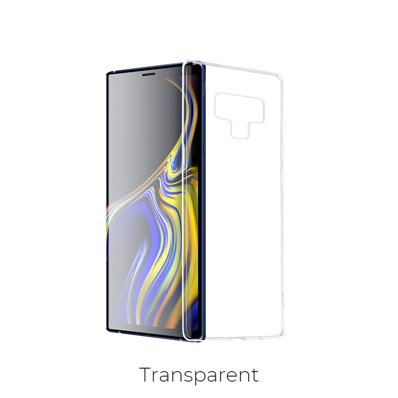 galaxy note9 light tpu case transparent