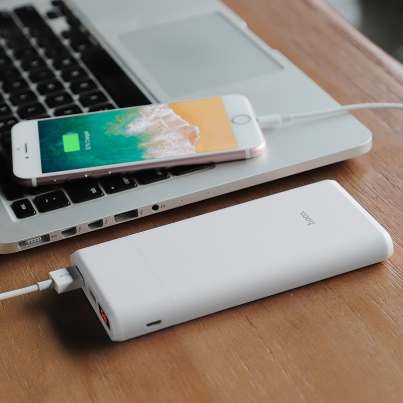 hoco b35c entourage mobile power bank 12000 mah charging
