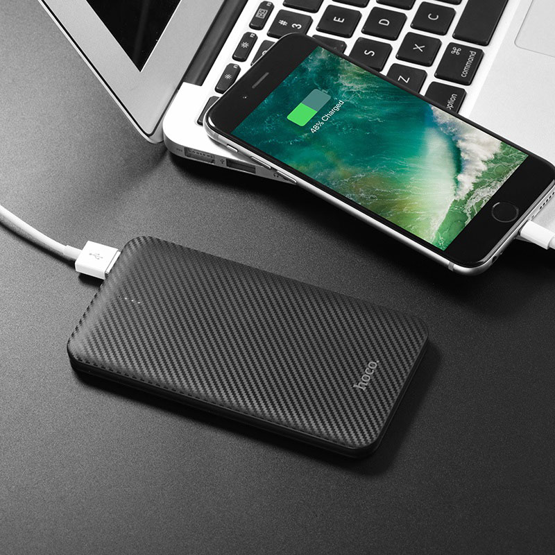 hoco b37 persistent mobile power bank 5000mah charging