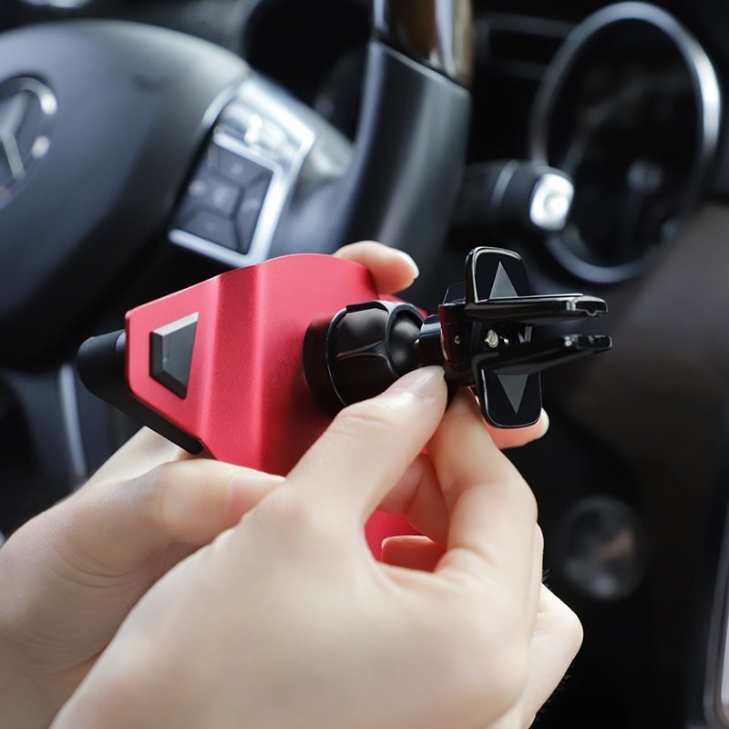 hoco ca41 diamond air outlet in car phone holder easy