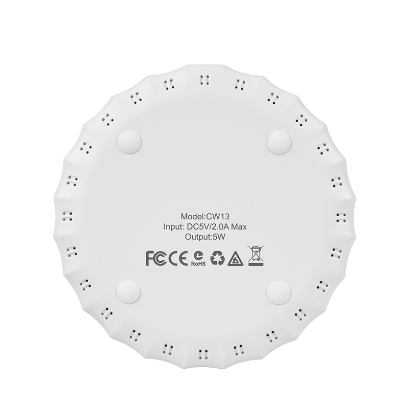 hoco cw13 sensible wireless charger back