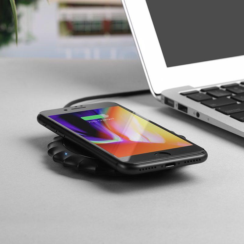 hoco cw13 sensible беспроводное зарядное устройство телефон