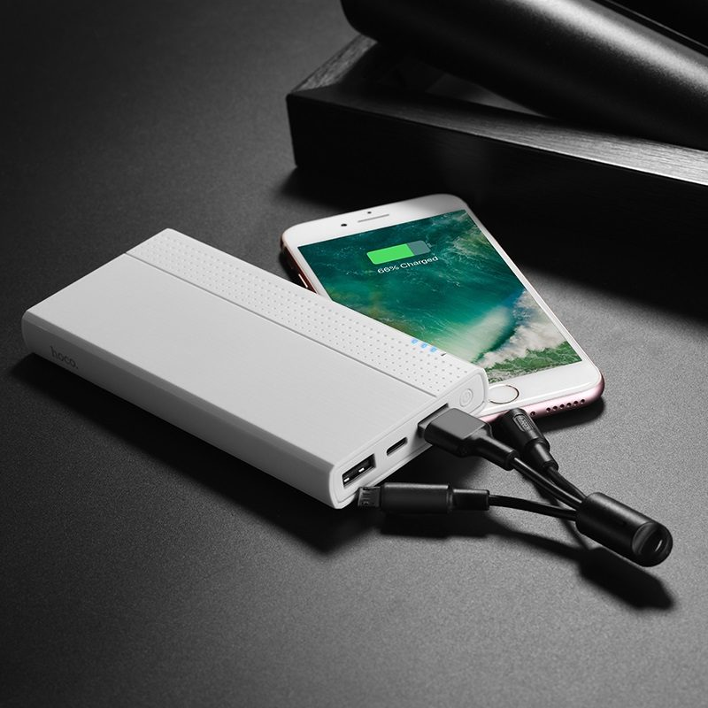 hoco j33 cool freedom mobile power bank 10000mAh charging