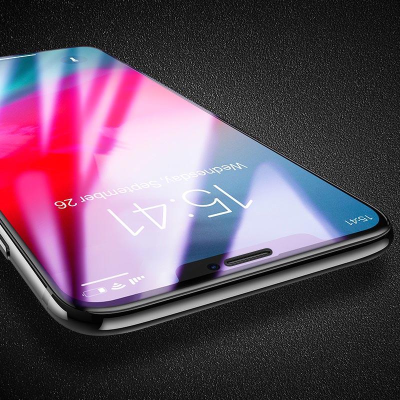 浩酷 新3d速贴护眼蓝光钢化膜 a5 iphone xr 保护