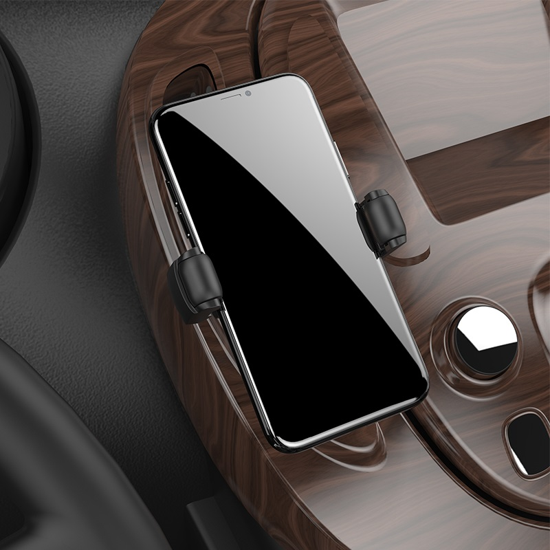 hoco s1 in car wireless charging phone holder overview