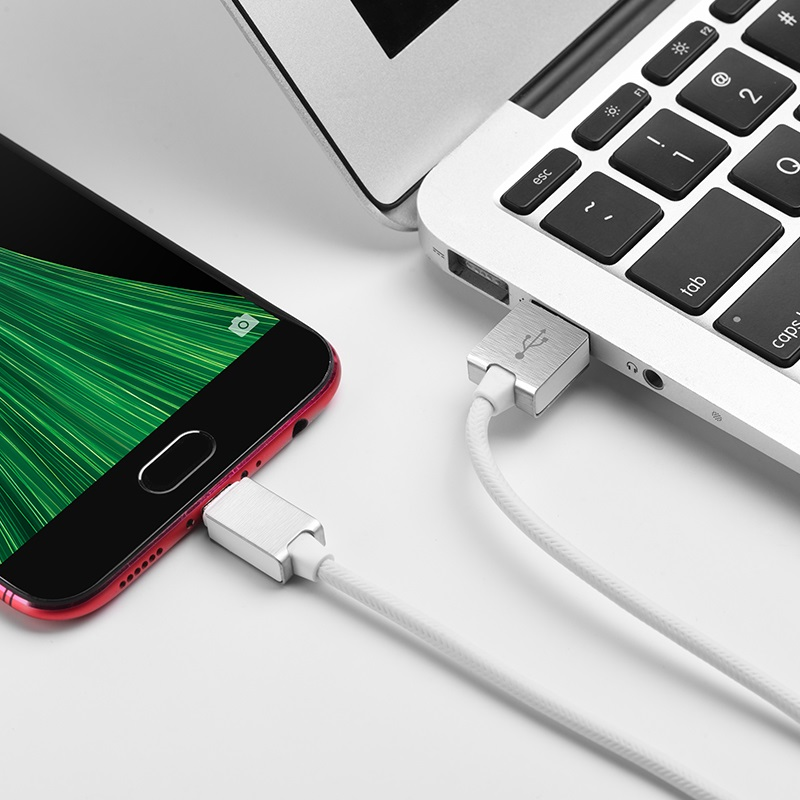 hoco u49 refined steel charging data cable for micro usb wire