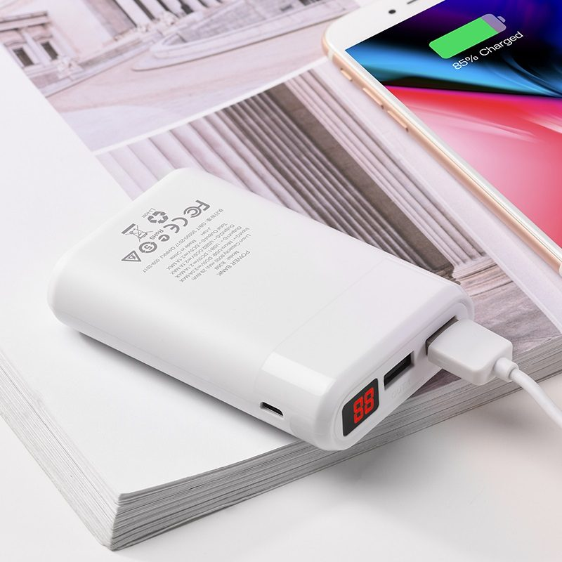 power bank b35b entourage mobile 8000 mah battery charging