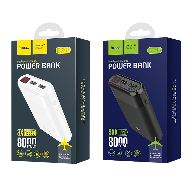 power bank b35b entourage mobile 8000 mah battery package