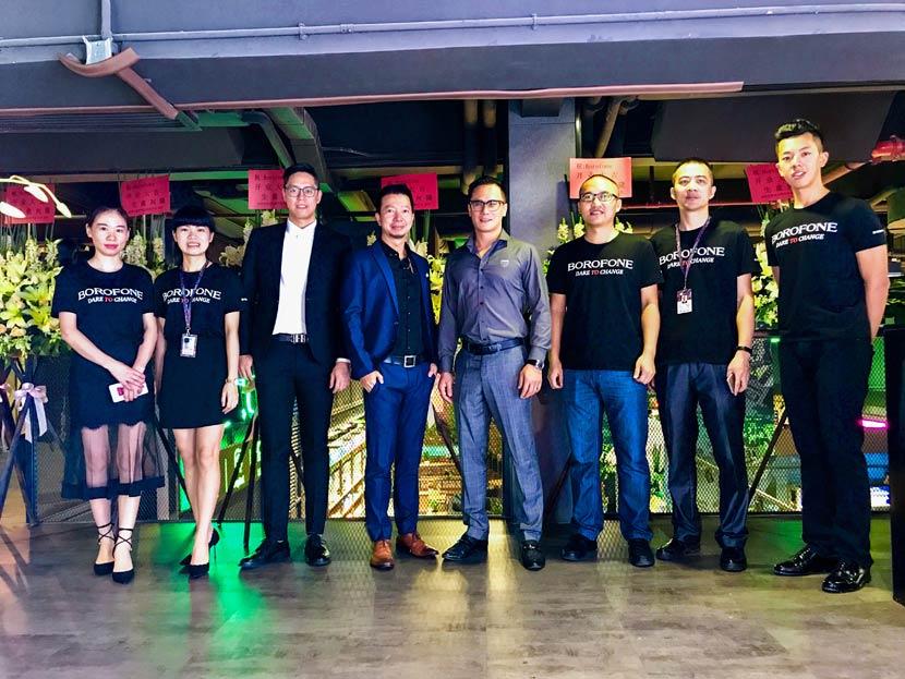 borofone guangzhou flagship store grand opening 3