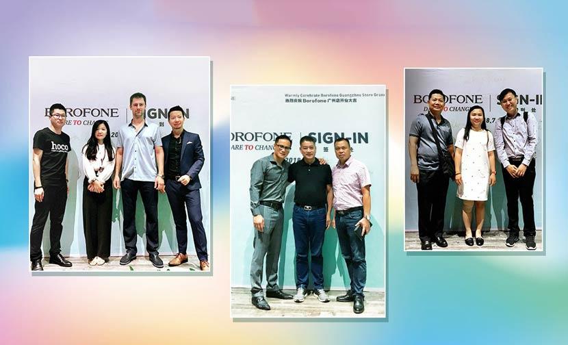 borofone guangzhou flagship store grand opening 6