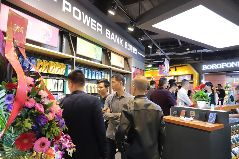 hoco borofone shenzhen flagship store opening 08