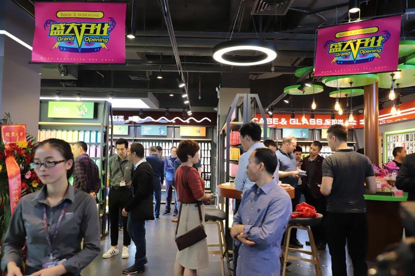 hoco borofone shenzhen flagship store opening 10