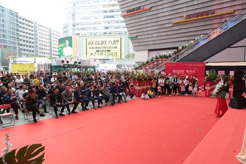 hoco borofone shenzhen flagship store opening 11