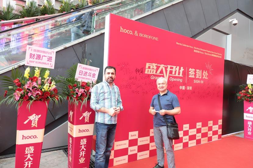 hoco borofone shenzhen flagship store opening 21