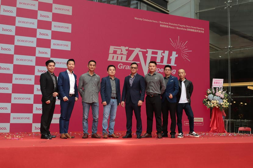 hoco borofone shenzhen flagship store opening 27
