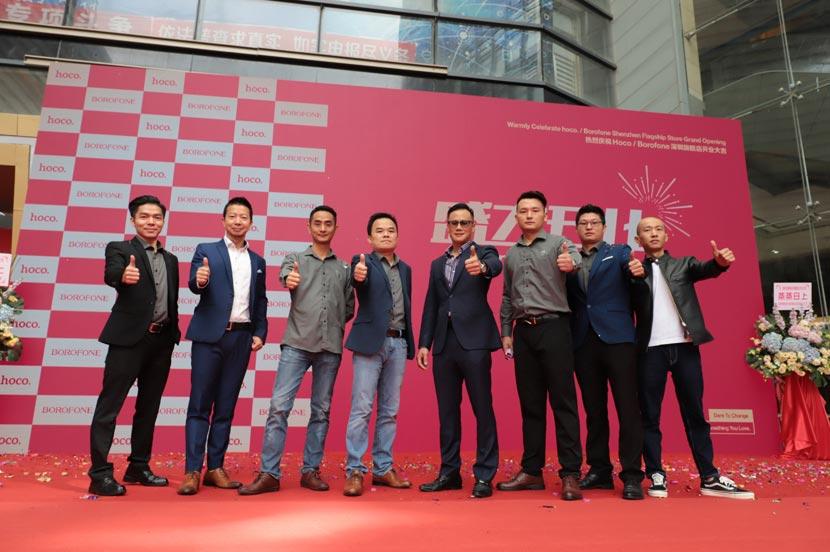 hoco borofone shenzhen flagship store opening 28