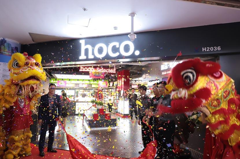hoco borofone shenzhen flagship store opening 32