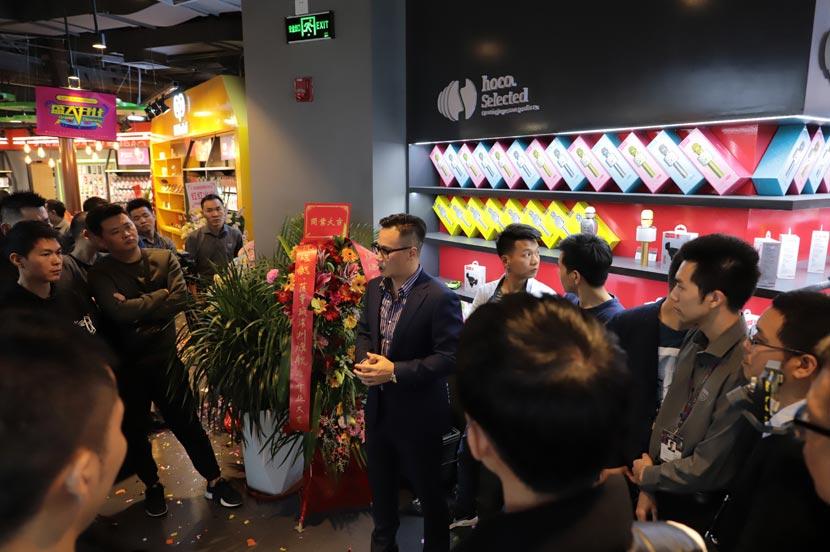 hoco borofone shenzhen flagship store opening 34