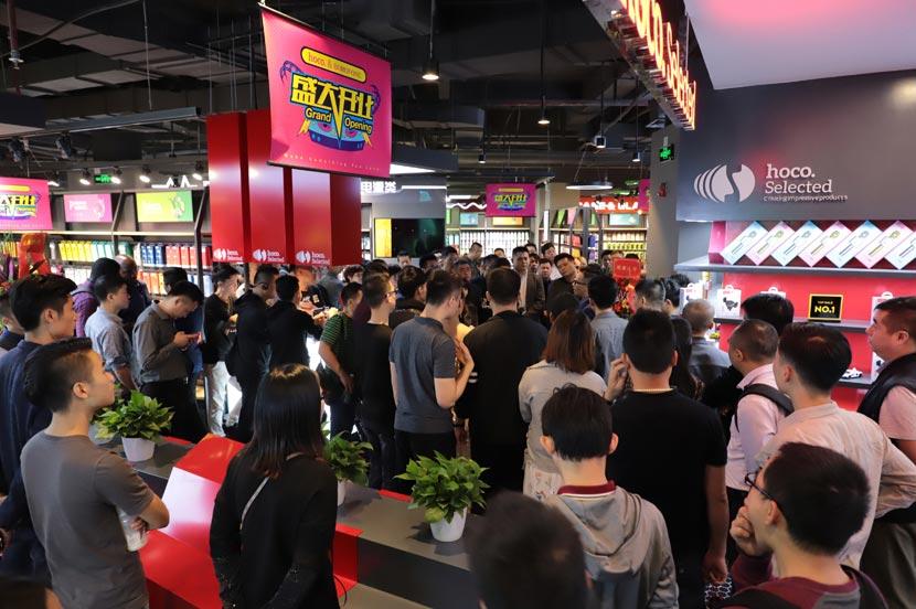 hoco borofone shenzhen flagship store opening 36