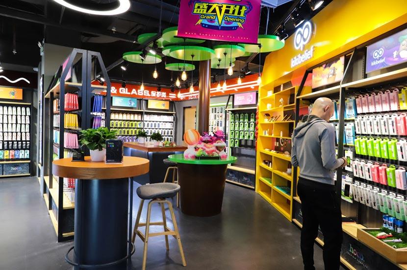 hoco borofone shenzhen flagship store opening 40