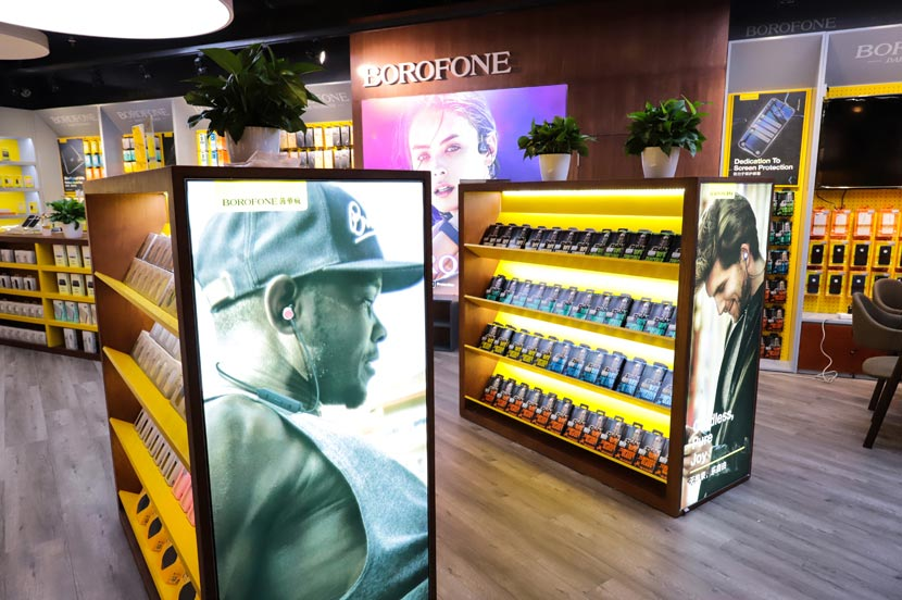 hoco borofone shenzhen flagship store opening 53