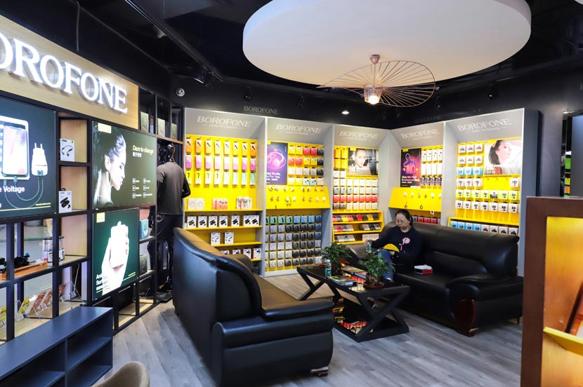 hoco borofone shenzhen flagship store opening 55