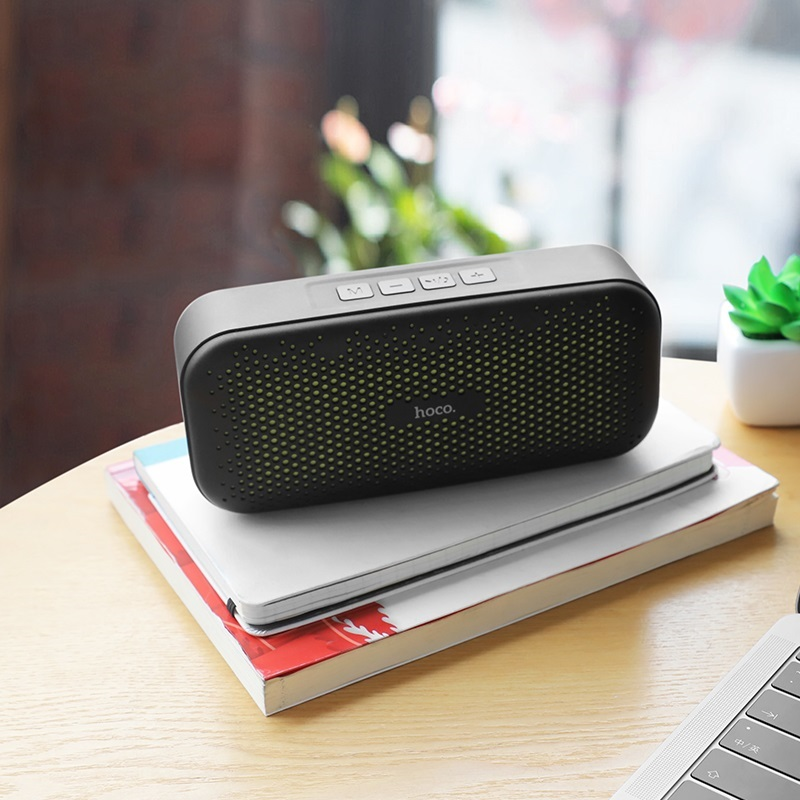 hoco bs23 elegant rhyme wireless speaker interior
