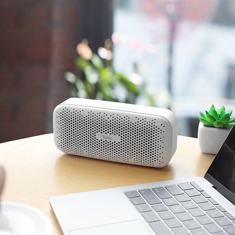 hoco bs23 elegant rhyme wireless speaker notebook