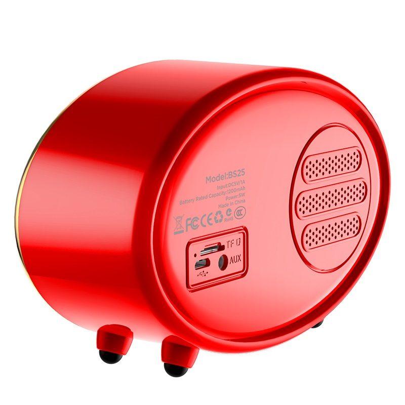 hoco bs25 time wireless speaker backside