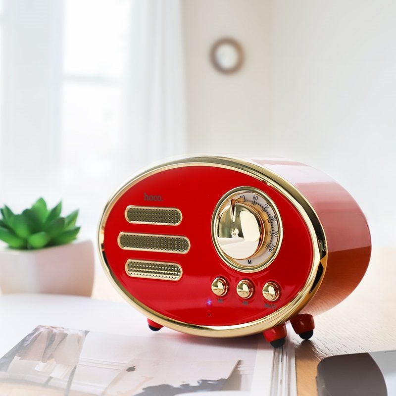 hoco bs25 time wireless speaker interior