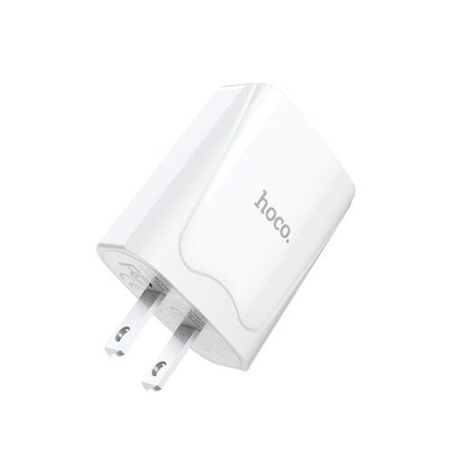 hoco c52 authority power зарядное устройство с двумя usb портами us логотип