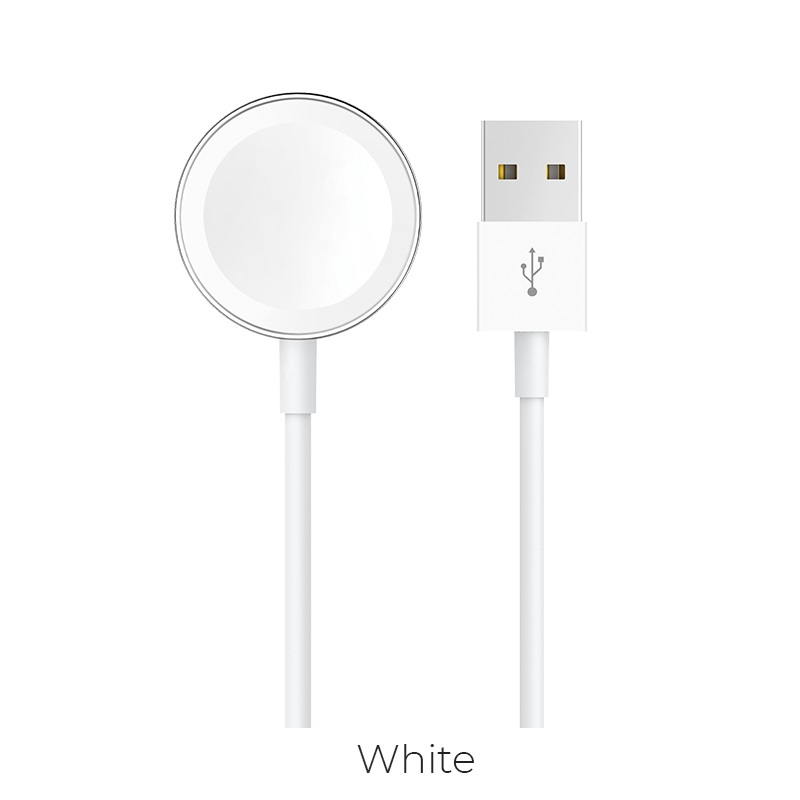hoco cw16 iwatch wireless charger white