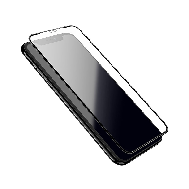 hoco flash attach tempered glass g1 for iphone x xs xr xs max edges