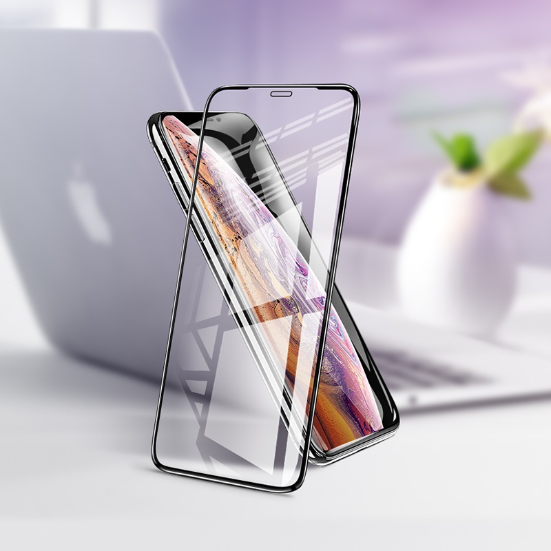 hoco flash attach tempered glass g1 for iphone x xs xr xs max interior