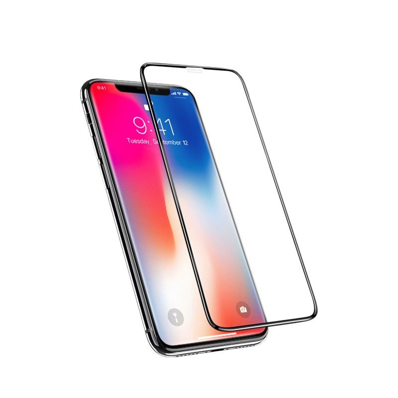 hoco full screen 3d anti shock tempered glass g2 for iphone x xs xr xs max