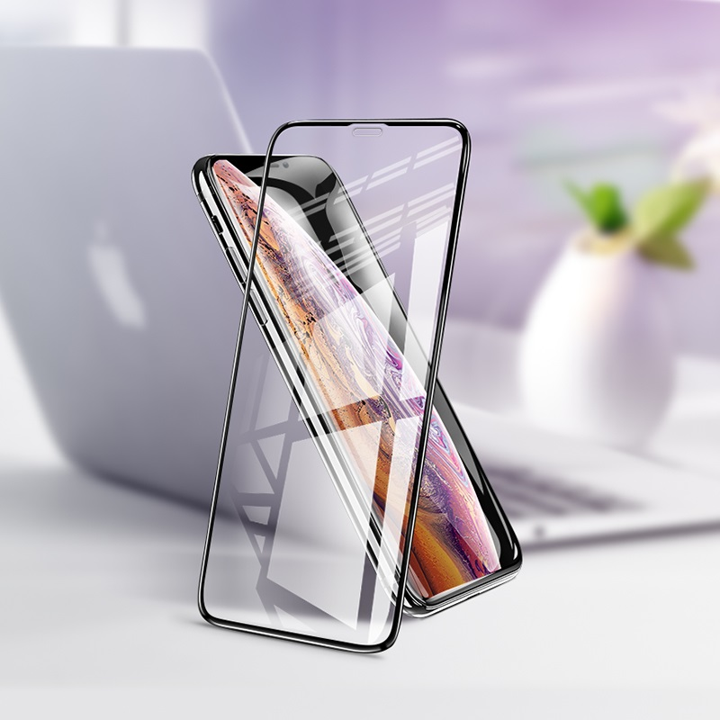 hoco full screen 3d anti shock tempered glass g2 for iphone x xs xr xs max interior
