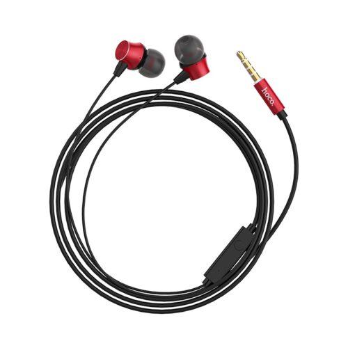 hoco m51 proper sound универсальные наушники с микрофоном кабель