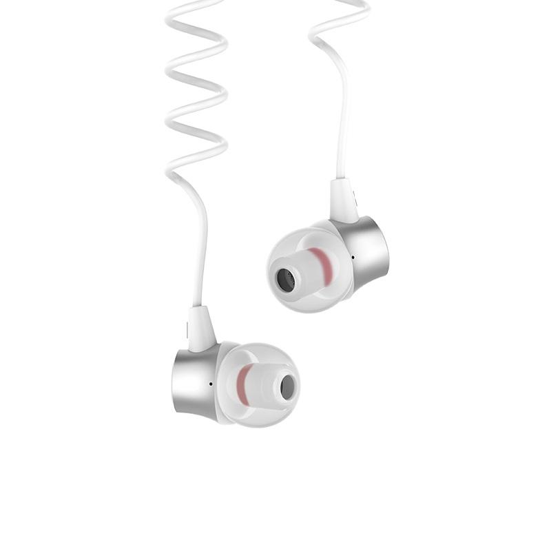 hoco m51 proper sound universal earphones with mic flexible