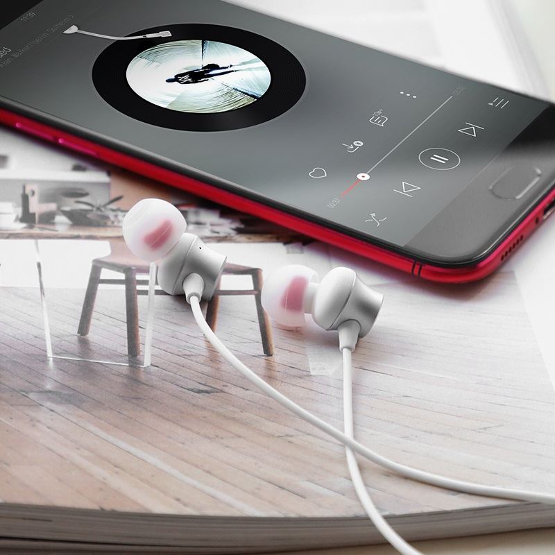hoco m51 proper sound universal earphones with mic phone