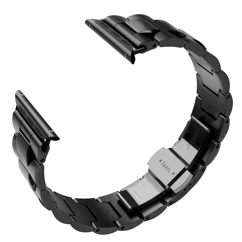 hoco wb03 apple watch series 4 3 2 1 grand steel strap 44 40 42 38mm buckle