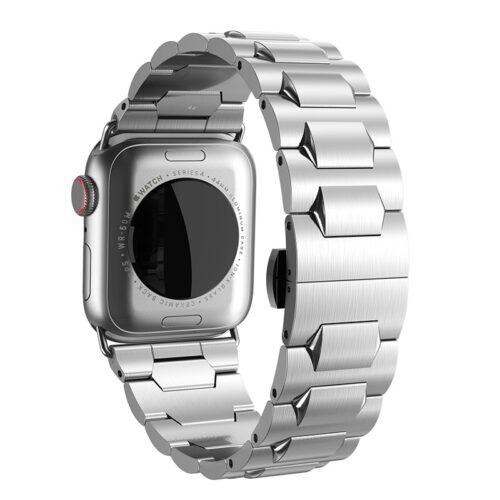 hoco wb03 apple watch series 4 3 2 1 grand steel strap 44 40 42 38mm butterfly