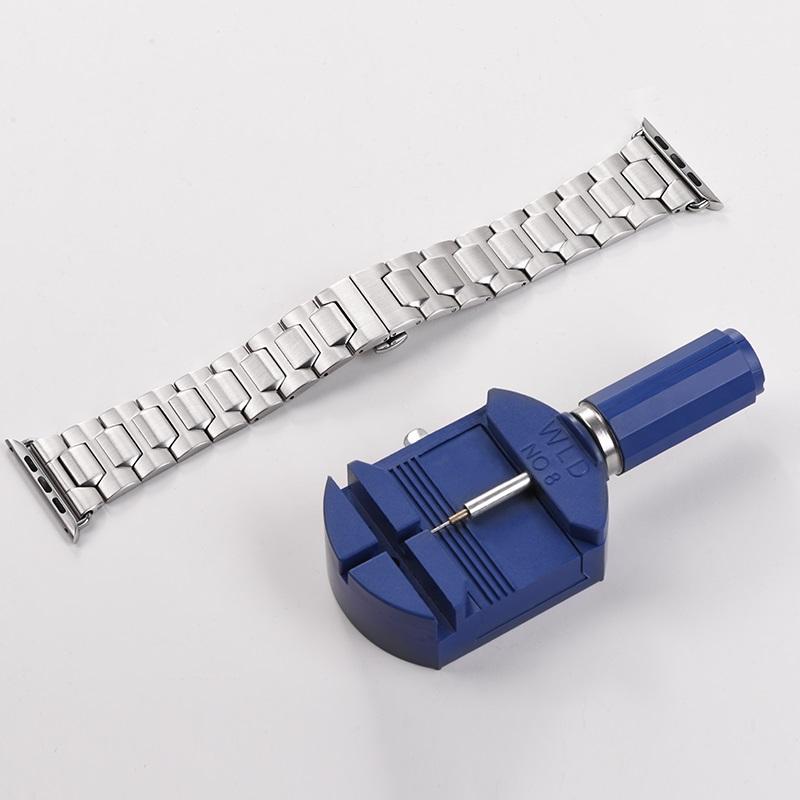 hoco wb03 apple watch series 4 3 2 1 grand steel strap 44 40 42 38mm tool