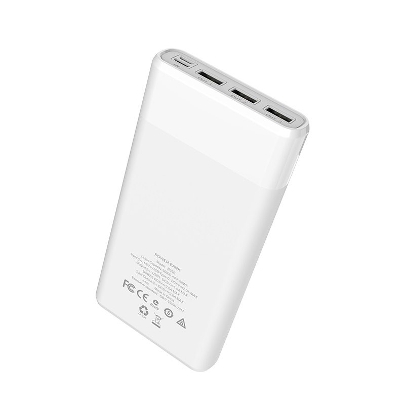 hoco b35e entourage mobile power bank 30000mah ports