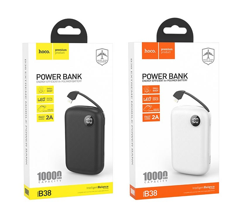 hoco b38 extreme mobile power bank 10000mah packager en