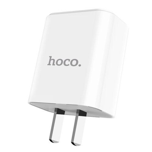 hoco c61 victoria зарядный адаптер с одним usb 3c обзор