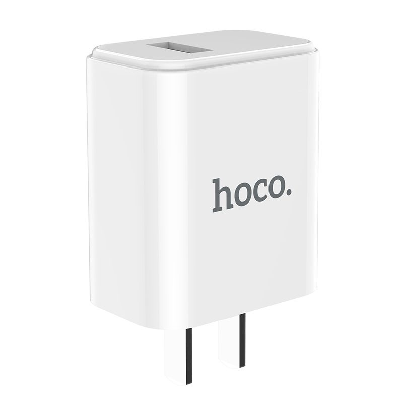 hoco c61 victoria single port charger 3c travel