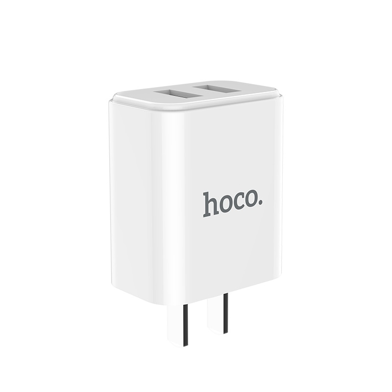 hoco c62 victoria dual port charger 3c overview